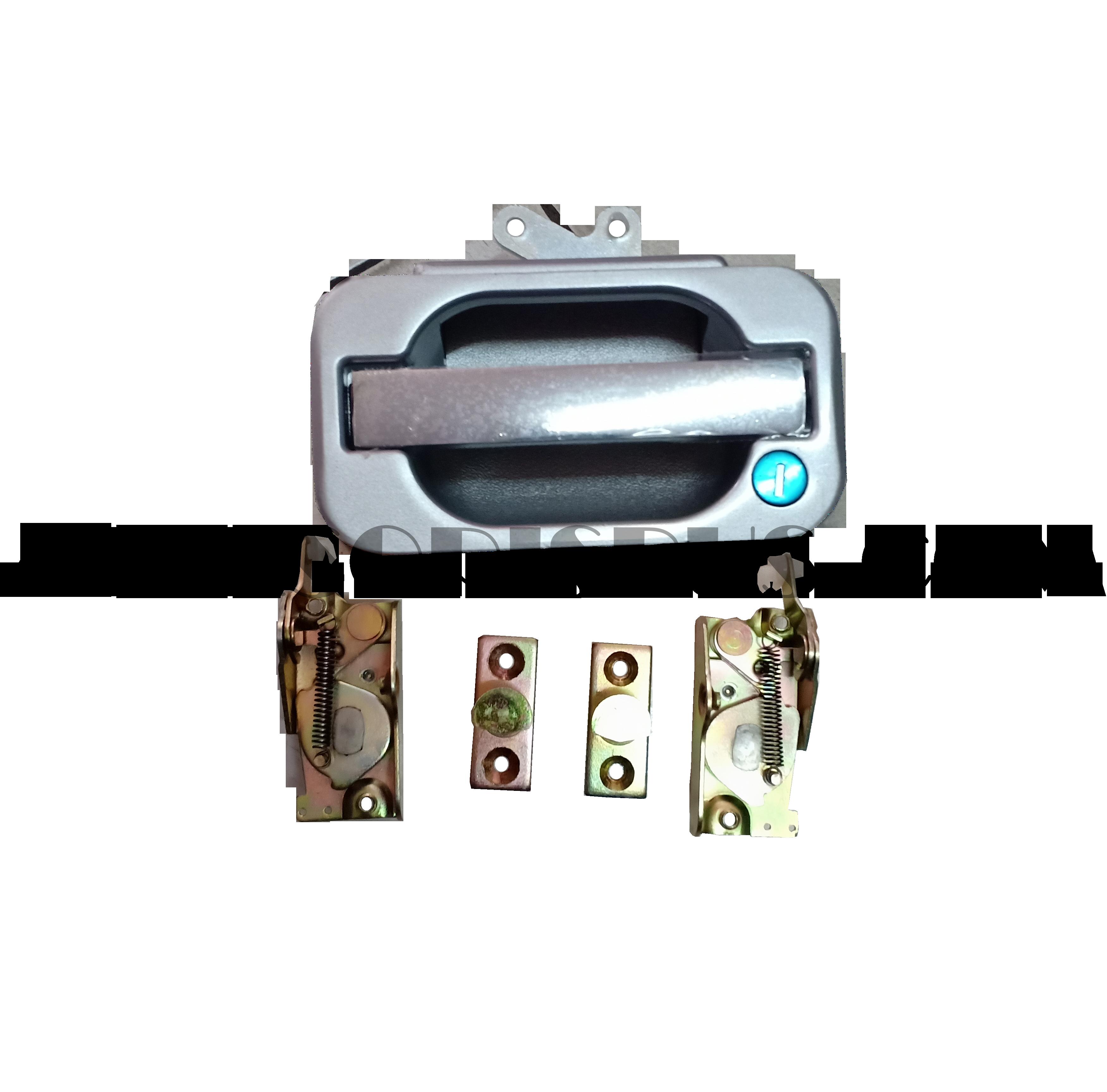 Handle Bagasi Kotak Tanpa Lampu